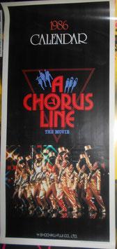 『コーラスライン』(A Chorus Line) プロモ用カレンダー(1985年)