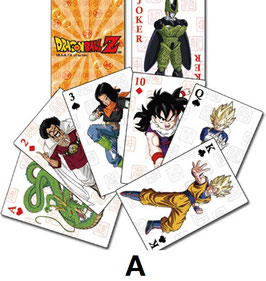 DRAGON BALL Z  PLAYING CARD