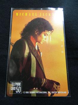 Michael Jackson テレフォンカード 1988年(DENTSU)