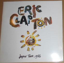 Eric Clapton 1985年 日本公演パンフレット