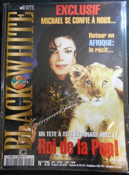 1998年MJファン雑誌(フランス)「BLACK & WHITE」NO.25