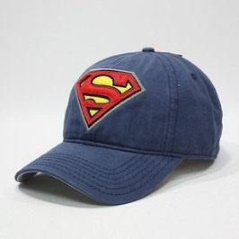 Superman Shield Blue Adjustable Cap