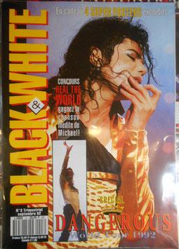 1992年MJファン雑誌(フランス)「BLACK & WHITE」NO.3