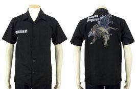 ゴジラ vs アンギラス S/S シャツ