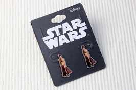 Star Wars Princess Leia Cutout Earrings