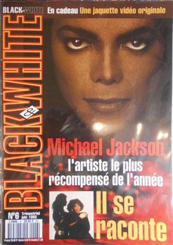 1993年MJファン雑誌(フランス)「BLACK & WHITE」NO.6