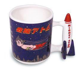 鉄腕アトム マグカップ(夜空・ロケットハンドル)