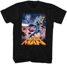 MEGA MAN(POSTERY MEGAMAN) Tシャツ