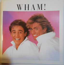 WHAM! JAPAN TOUR 1985年パンフレット(Maxell WHAM! In Japan)