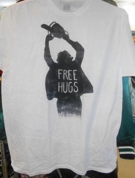 『悪魔のいけにえ』Tシャツ(FREE HUGS)