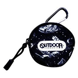 スター・ウォーズ x OUTDOOR PRODUCTS カラナビ付きコインパース(スペース)