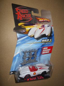 スピード・レーサー HOT WHEELSミニカー  「MACH 5」 w/ Jump Jacks  1:64