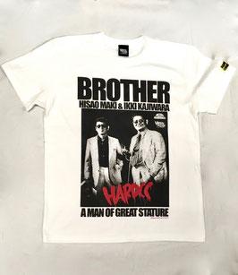 BROTHER(梶原一騎・真樹日佐夫)兄弟  Tシャツ