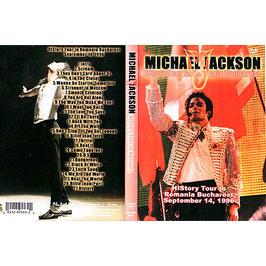 DVD:MJ History Tour in Romania 1996