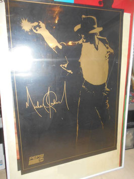 MICHAEL JACKSON DANGEROUSツアー PEPSI販促用ポスター(1992年)