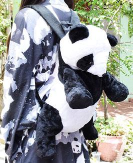原宿系  パンダのぬいぐるみリュック