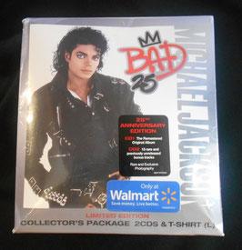 Michael Jackson BAD 25周年記念 2CD & Tシャツ セット(Walmart限定)