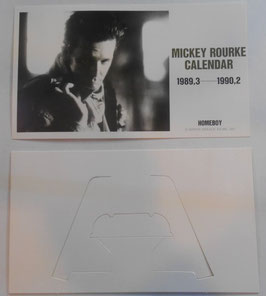 『ホームボーイ』(HOMEBOY) プロモ用カレンダー(1989年)