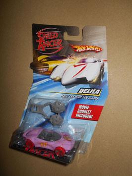 スピード・レーサー HOT WHEELSミニカー  「DELILA」 Street Car w/ Saw Blades  1:64