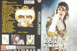 DVD:MJ Dangerous Tour Live in Bucharest 1992 BBC