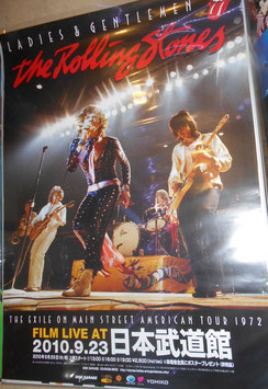 THE ROLLING STONES『LADIES AND GENTLEMEN』Film Live at Budokan日本限定ポスター(2010年)