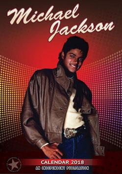 Michael Jackson Official 2018 Calendar - A3 Poster Format(B)