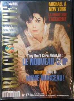 1996年MJファン雑誌(フランス)「BLACK & WHITE」NO.17