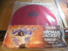 MJ  THE IMMORTAL WORLD TOUR BY CIRQUE DU SOLEIL  VIP席ノベルティー(VIPパス付)