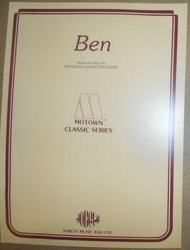 Michael Jackson「BEN」JOBETE MUSIC社製  楽譜(1972年)