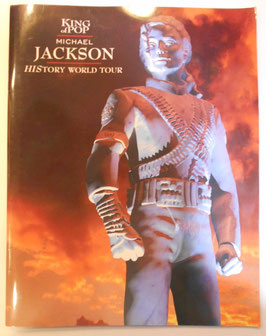 MICHAEL JACKSON 1996年 HIStory Tour パンフレット