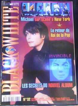 2001年MJファン雑誌(フランス)「BLACK & WHITE」NO.32