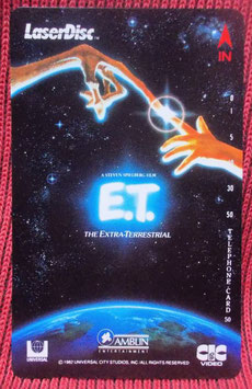E.T.The Extra-Terrestrial  テレフォンカード(1982年)