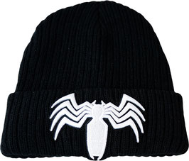 Marvel Comics Venom Spider Symbol Cuff Beanie