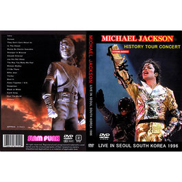 DVD:MJ History Tour in Korea 1996