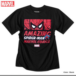 MARVEL  スパイダーマン(ロゴ)  Tシャツ