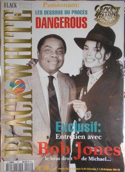 1994年MJファン雑誌(フランス)「BLACK & WHITE」NO.10