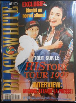 1997年MJファン雑誌(フランス)「BLACK & WHITE」NO.23