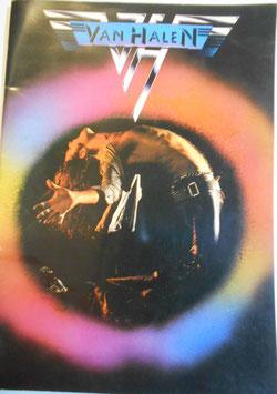 VAN HALEN 来日コンサートパンフレット1978年