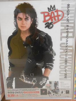 MJ BAD25周年 記念セット 宣伝ポスター
