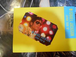 Michael Jackson テレフォンカード 1987年 日テレ(カバー付き)