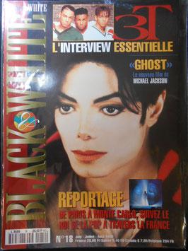 1996年MJファン雑誌(フランス)「BLACK & WHITE」NO.18
