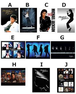 Michael Jackson ポストカード