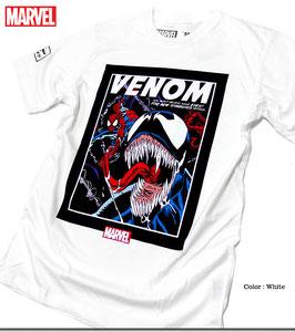 MARVEL  スパイダーマン&ヴェノム  Tシャツ