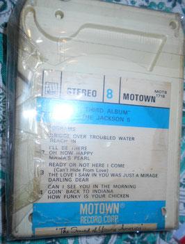 ジャクソン5  3rd.アルバム 8トラック・カートリッジテープ(1970年)