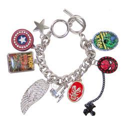 Marvel Character Charm Bracelet