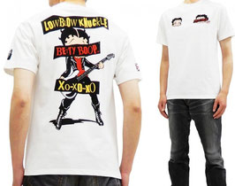 BETTY BOOP plays the guitar Tシャツ