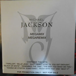 Michael Jackson ‎–  Promo Single CD Megamix / Megaremix(1995年)
