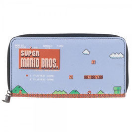 Nintendo Super Mario Large Zip Around Wallet