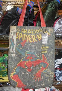 スパイダーマン トートバッグ