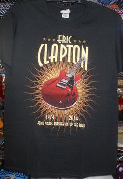 Eric Clapton 2014年 日本公演40周年記念Tシャツ